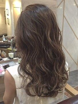 オーブ ヘアー ルル 京都四条通り店(AUBE HAIR lulu)透け感あるカラーで女っぽさをプラス♪