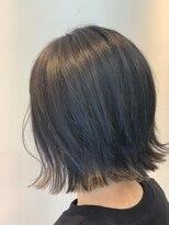 イーチ ディー ヘアーアンドトータルビューティー(each dee hair&total beauty)外ハネショートボブ