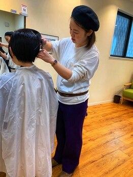 フーヘアーリビング(Fuu Hair Living)の写真/【OPEN2周年★】丁寧なカウンセリングと高い技術で理想を実現!半個室の空間で周りを気にせず過ごせる♪