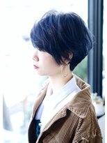 《hair design SCENE♪》☆お洒落度アップ☆ブルーブラック
