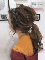 ルーナ ヘアラウンジ(Luuna hair lounge)カチューシャアレンジ