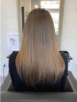ヘアーメイクムーンリバー(hair make MOON RIVER)の写真/毛先までスルン♪とまとまる美髪を叶える!髪質に合ったトリートメントをご提案☆潤いと艶に満ちた髪へ…