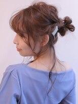 《Agu hair》ゆるまとめウェーブアップ