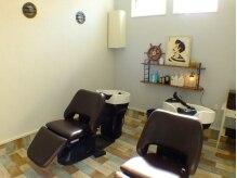 グラッシー ヘア ルーム(Glassy hair room)の雰囲気(気取らないナチュラルな空間だからリラックスできる♪)