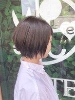 ドォート(Dote hair make)☆エアリー小顔ショート☆ マニッシュショート 林 大樹