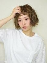 オブヘアー 鷺沼店(Of HAIR)無造作ショートボブ☆