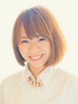 ヘアーサロン テイル リバー(Hair Salon Tail River)柔らかカールのスウィートボブ☆