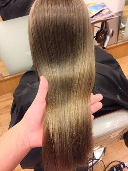 クレア 座間(CREA ZAMA)の写真/毛先がチリつかない、硬くならない、傷まない縮毛矯正『ネオリシオ』☆自分史上最高のストレート!