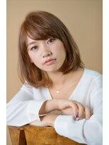 ミンクス 銀座店(MINX)【MINX土屋】美香さん髪型 コットンカールミディ