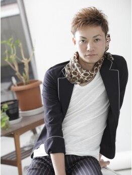 ヘアアンドライフ ゴースリー(HAIR&LIFE GO 3)の写真/おしゃれメンズから支持される《モテる男のサロン★》伸びてもキマる計算されたデザイン力が魅力!!