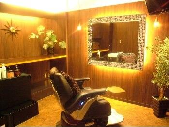 ヘアアンドスパ バースデイ(Private Salon HAIR&Spa BiRTHDAY)の写真/【祝10周年!!クーポン有★】全4室の完全個室で過ごす、あなただけの贅沢なサロンTime♪髪も心も癒されて…