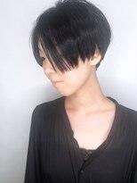 ラウンジ モリオ イケブクロ(Lounge MORIO Ikebukuro)【morio池袋】大人かわいい前下がり小顔ハンサムコンマショート