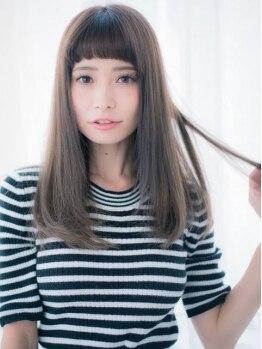 アトリエ モノクローム(Atelier monochrome)の写真/髪質を内部から潤う柔らかに♪こだわりのHAGOROMOストレートで、内側からの綺麗がずっと続く★