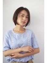 シアン ヘア デザイン(cyan hair design)【cyan】大人カワイイ 小顔ボブ