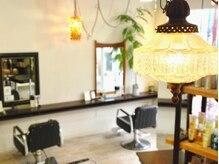 Hair&Relax Balnce3 バランススリーの雰囲気(こだわりのアンティーク家具が落ち着きます。)