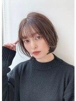 ユーフォリアギンザ(Euphoria GINZA)20代30代スタイリング簡単♪毛先パーマ×ミニボブ担当畑