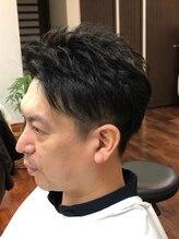 ラグヘアーデザイン(RAG hair design)刈り上げツーブロック