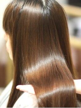 マリブ ヘアリゾート みどり店(malibu hair resort)の写真/≪希少性の高いエクラスタトリートメント取扱い★≫本当のうるツヤ美髪が叶うこだわりトリートメント♪