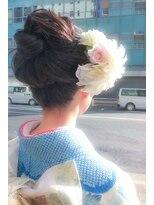 ヘアーメイクミキ 上野本店(hair make MIKI)着物アレンジスタイル