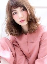 クオーレ(cuore)ラフカジュアル☆スィート系ミディアムスタイル☆cuore