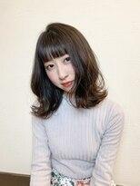 アヂト(adito)暗髪で魅せる大人ロブスタイル
