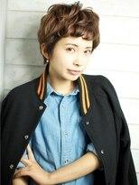 ベック ヘアサロン(BEKKU hair salon)TOMBOYみたいなかわいさ♪外国人風キュートなショートスタイル☆