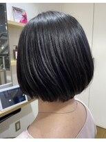 ビームズ ヘアー ペパン(Bee ms HAIR pepin)ボブスタイル【#髪質改善カラー#カシミヤトリートメント#大垣】