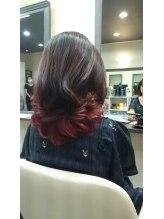 ヘアコンシェル ミューオン(Hair conciel μ+)ツヤツヤグラデーションカラー