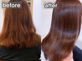 堺鳳 ミント(Mint.)の写真/驚きの声多数!!《ストリートメント》で理想の美髪が手に入る♪髪質改善特化SALONの本気のクセ毛改善をぜひ!