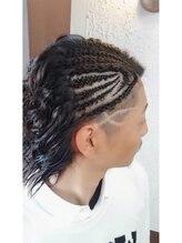 ヘアーワークス ブレーヴ(HAIR WORKS BRAVE)スパイラルパーマ・男気スタイル