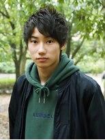 ベンケイ(HAIR AVENUE benkei)【ツーブロックなし】エアリーメンズウルフ