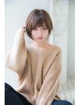 ジョエミバイアンアミ(joemi by Un ami)【joemi】とろみショートフェアリーバング(小倉太郎)