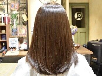 ヘアーデザイン アトリエ ミウ(HAIR DESIGN ATELIER MIU)の写真/大人女性の揺らいだ頭皮や髪にやさしい☆ヘアカラーを継続的に楽しめる状態に髪を整えます!