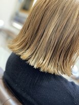 エトワール(Etoile HAIR SALON)ダブルカラー外ハネボブ【南区/ハイライト/髪質改善/縮毛矯正】