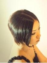 アビリティ ヘアー(ability hair)毛先にゆるめのパーマのあるクラシックボブ by abilityhair