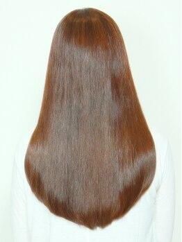 アースペース(ARSPACE)の写真/【ARSPACE】喜びの声多数☆髪に優しい弱酸性ストレートで自分史上最高の美髪へ・・・♪