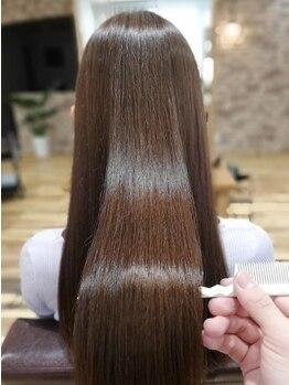 シエル エマージュ 松戸(CIEL Emerge)の写真/ノーベル賞特許!TOKIOトリートメント等髪質改善に特化した商材取扱い。傷んだ髪に潤いを《松戸/JR松戸》