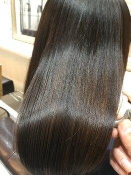 セブンス センス(Seventh Sense)の写真/髪質にお悩みの方へおススメの新しい髪質改善!自然で扱いやすい、サラツヤストレートヘアが叶います★