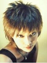 アビリティ ヘアー(ability hair)トップが短めのショートウルフスタイル