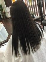 ヘアー チクタク(Hair Ciku-taku)アッシュ×質感ストレート