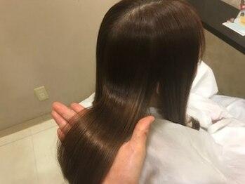 ドルチェ ヘアー(DOLCE hair)の写真/傷み・クセ・乾燥など、1人1人違う髪のお悩みに応えるAujuaトリートメントであなたの為のヘアケアを♪