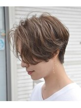 ティーズヘアー(T's HAIR)handsome short