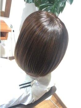 ドローム(droem)の写真/《droem》ではお客様の髪の事を第一に考え、こだわりの高品質COTAトリートメント・naplaインプライム使用☆