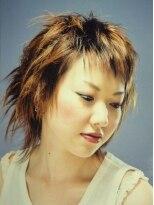 アビリティ ヘアー(ability hair)ワイドバングからつくるミディアムウルフ by abilityhair