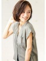 ユキオグループグラン(YUKIO GROUP GRAN)大人女性のための小顔style☆耳かけ3Dボブ☆
