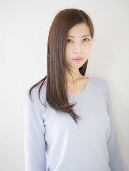スタジオ シティ 美容室(studio city)の写真/【髪質改善!!】ハホニコ酸熱トリートメント『グリニコ』導入!!誰もが憧れる、ツヤめく美髪を手に入れて☆