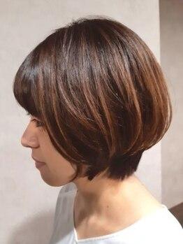 レリーヘアーデザイン(lelie hair design)の写真/【Rカラー導入☆】髪の強度が増し、ダメージレスで長持ち。繰り返すほど、髪の変化を実感します。