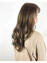 【ダメージレスカラー】×【イルミナカラー】で透け感のある髪へ☆