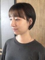 パム 恵比寿(PAM.)【pam.ゴトウ】 natural shortbob