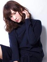 ロータス(Lotus)【Lotus】ファジーウェットカール☆ミディ